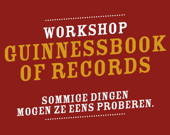 Workshop Guinnessbook of records