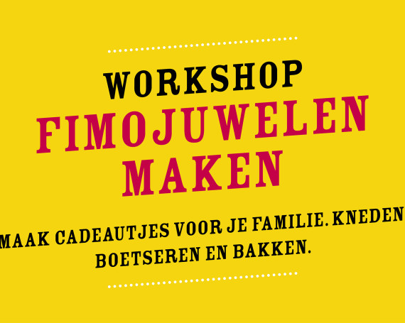 Workshop Fimojuwelen maken