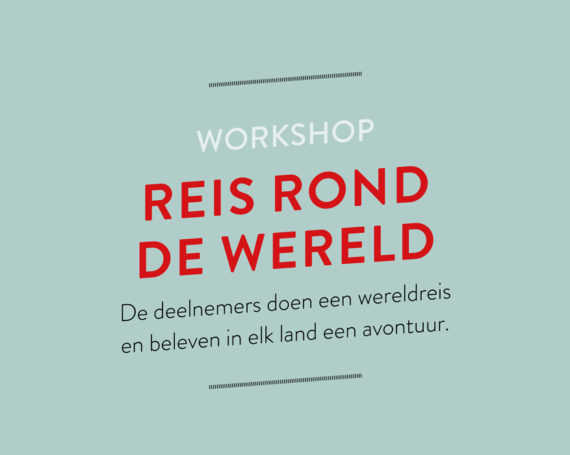 Workshop Reis rond de wereld